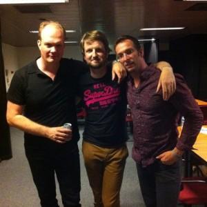 Rembrandt Frerichs trio, backstage @ North Sea Jazz